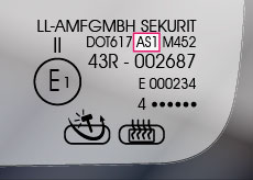 AS-Code - Autoglas Stempel - Glaslexikon