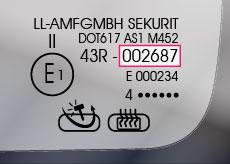 ECE - Autoglas Stempel - Glaslexikon