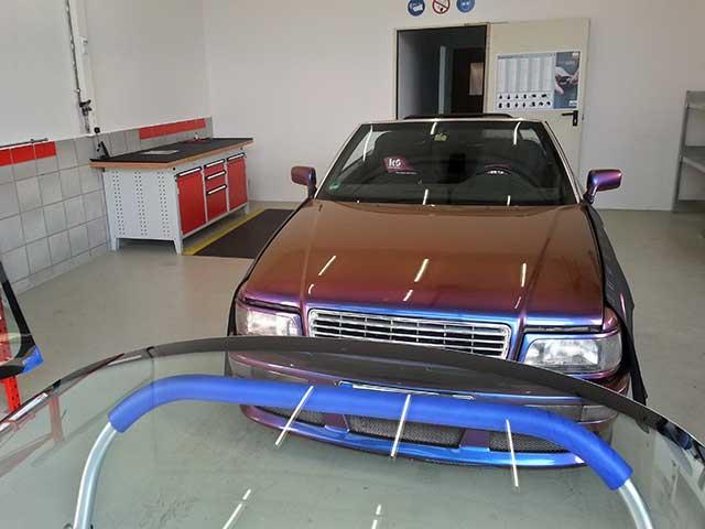 Austausch der Frontscheibe - Audi 80